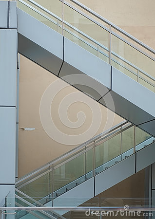 Free Staircases Forming Triangles Stock Photo - 24950690