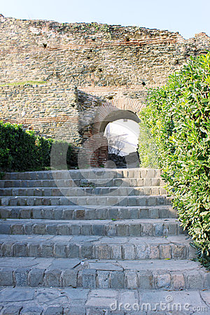 Stairs and Arc
