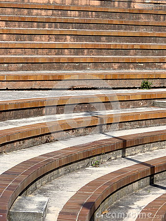Stairs and bleachers