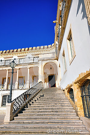 Stairs in Coimbra university
