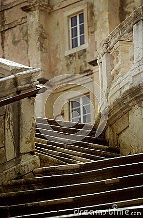 Stairs in Croatia