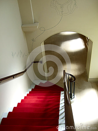 Stairs descending