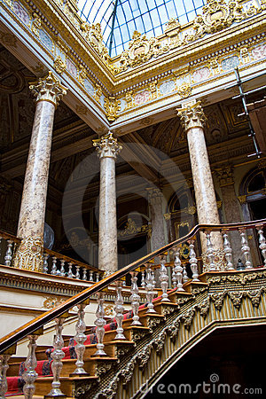 Stairs in Dolmabahce Palace