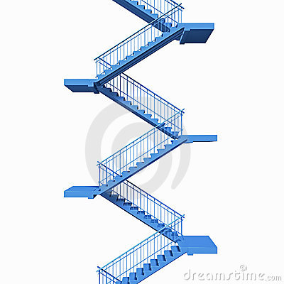 Stairs, flight of stairs
