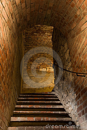 Free Stairs In Medieval Stronghold Royalty Free Stock Photography - 13294467
