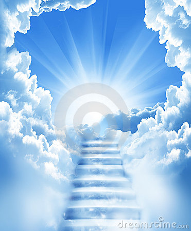 Free Stairs In Sky Royalty Free Stock Photos - 14290838