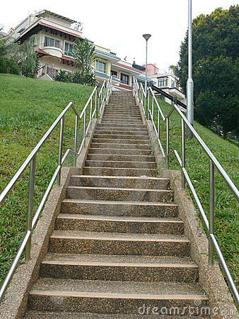 Stairs leading up