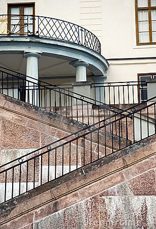 Stairs of a palace