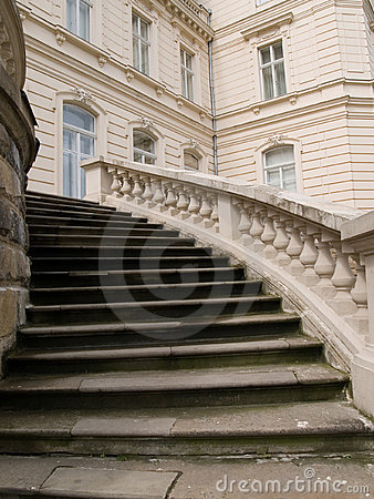 Stairs of the palace