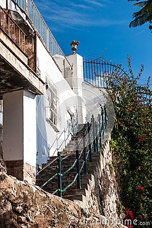 Stairs in Palma de Majorca