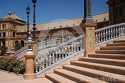 Stairs of the Plaza of Spain