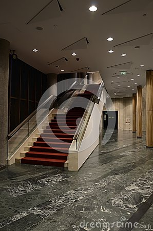 Stairs in theatre