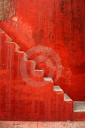 Stairs to india