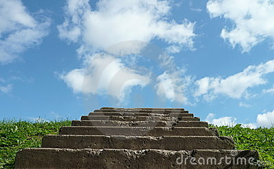 Stairs to sky