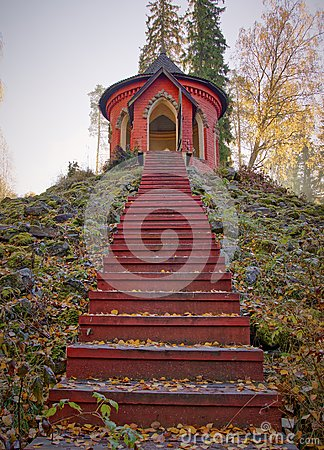 Free Stairs To Summerhouse Royalty Free Stock Photography - 61020307