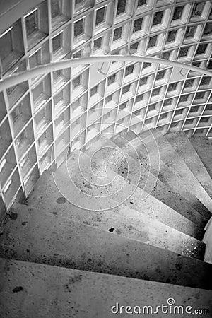 Stairs to underground