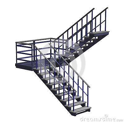 Free Stairway Stock Photography - 45937232