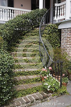 Free Stairway Charleston Stock Image - 2141171
