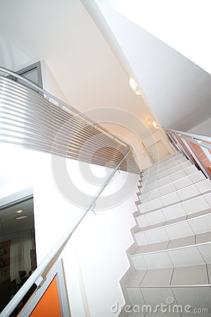 Stairway in Extreme Perspective