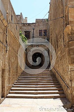 Stairway in Jerusalem