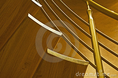Stairway in luxury home