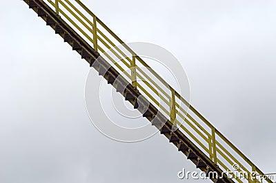 Stairway suspendido