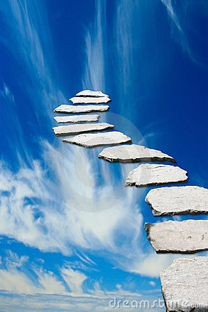Free Stairway To Heaven Stock Photography - 10166882