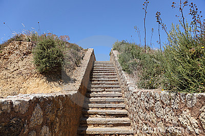 Stairway To Heaven Royalty Free Stock Photography - Image: 15398887