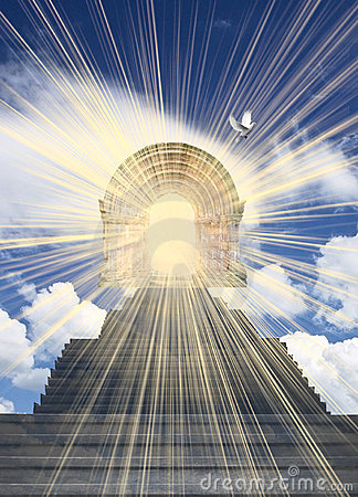 Free Stairway To Heaven Stock Photography - 18756372