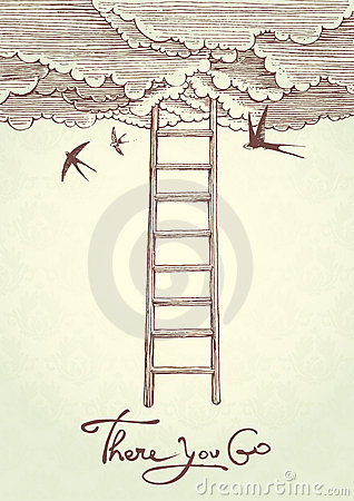 Free Stairway To Heaven. Royalty Free Stock Photography - 20689437