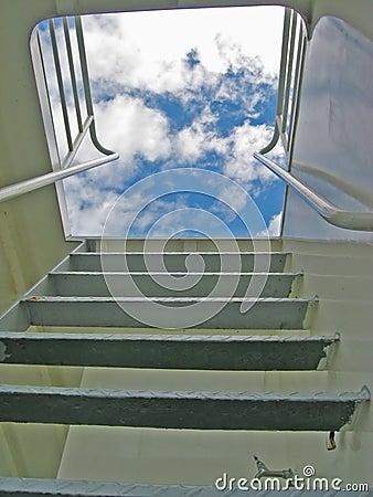 Free Stairway To Heaven Royalty Free Stock Photos - 223378