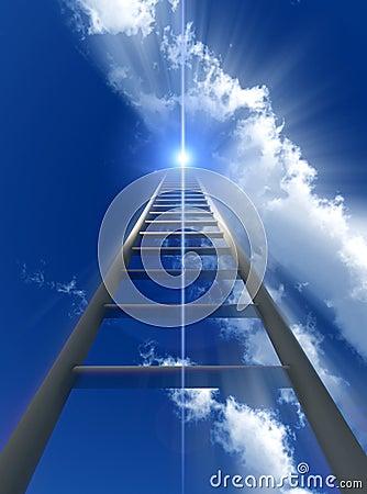 Free Stairway To Heaven Royalty Free Stock Photo - 2557465