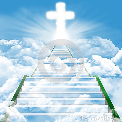 Free Stairway To Heaven Royalty Free Stock Images - 26498609