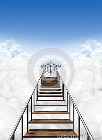 Free Stairway To Heaven Royalty Free Stock Image - 36781156
