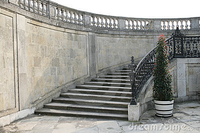 Stairway to the palace