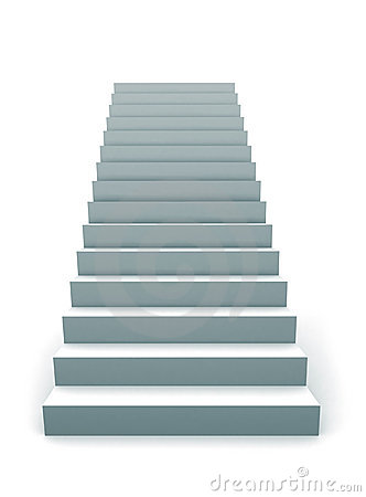 Stairway To Success Stock Photo Image 18413780