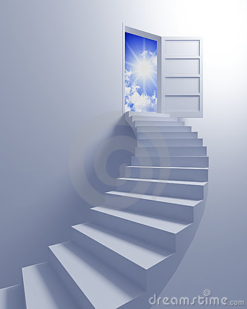 Free Stairway To The Freedom Royalty Free Stock Photo - 8895195