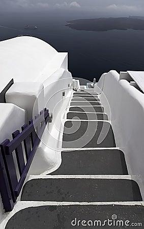 Free Stairway To The Sea Royalty Free Stock Photos - 23882008