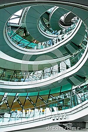 Stairway vertical