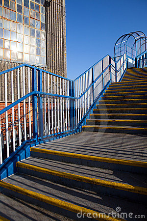 Stairway warehouse steps