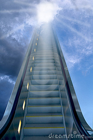 Free Stairways To Heaven Royalty Free Stock Image - 150886