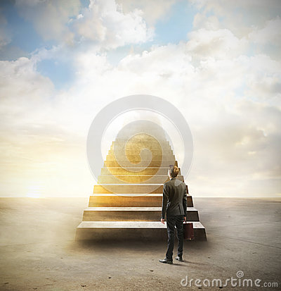 Free Stairways To Heaven Stock Photography - 52348242