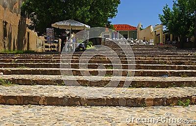 Stairways in Trinidad, Cuba