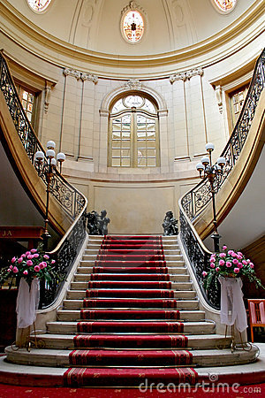 Free Stairwell In Palace. Royalty Free Stock Photography - 5048007