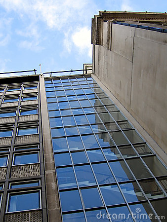 Free Stairwell On Modern Office Building In Liverpool Royalty Free Stock Photos - 450938