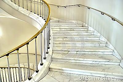 Stairwell in Royal Castle in Warsaw