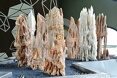 Stalagmites at Gardens by the Bay