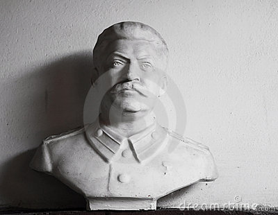 Stalin s sculpture portrait