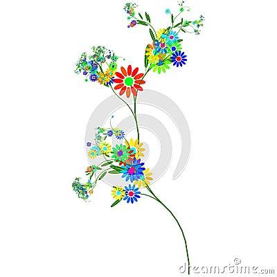 Free Stalk Of Flowers Stock Image - 6919221