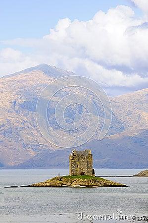 Stalker Castle in Scotland